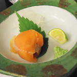 駒ヶ岳温泉 - 紅鱒の洗い