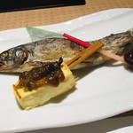 レストラン銀杏 - 焼物(山女)