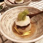 Kitchen和 - ふろふきかぶら肉味噌がけ