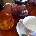 カフェ エスケープ - ゆず紅茶