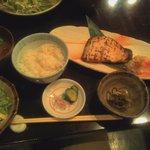 ごち屋 - 目鯛の味噌漬け焼き定食