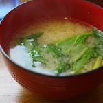 ブーメラン - 味噌汁