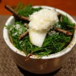 和み処 男山 - 梨とクリームチーズ