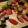 Nagomidokorootokoyama - 料理写真:ひがしものの握りと秋刀魚の海苔巻