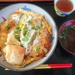 寿味食堂 - カツ丼(750円)