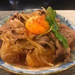 愛子屋 - 肉豆ふ(牛肉)