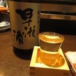 94924974 - 早瀬浦 冷酒 680円 (2018.9)
