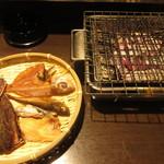 94925026 - 炭火焼 おまかせセット 490円 (2018.9)