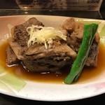 寿し処 喰道楽 - マグロカマトロ煮