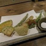 あめこや - 季節野菜の天ぷら