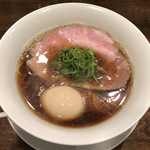 94928939 - 「醤油拉麺」850円+味玉