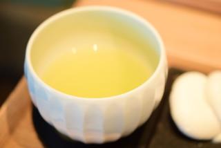 茶庭 然花抄院 - 【実ノ膳(秋季限定)@1,400円】玄米茶
