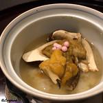 お料理 七草 - 松茸と海胆の飯蒸し