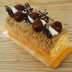 エーワン洋菓子店 - 高千穂栗のロールケーキ