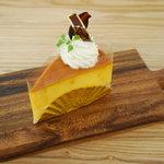 エーワン洋菓子店 - 北海道かぼちゃのプリンタルト