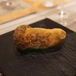 SUGALABO - マツタケの揚げ物とタルタルソース
