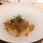 SUGALABO - 釣りきんき、海老芋、アルバ産白トリュフ
