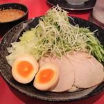 廣島つけ麺本舗 ばくだん屋 - 廣島つけ麺[冷](並)