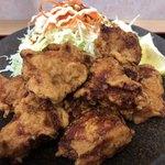 福島松川パーキングエリア 上り - から揚げが8個 美味しい❗️