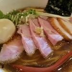 麺処 夏海 - 「豊穣清湯特製醤油ラーメン」(950円)