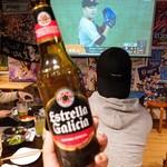 スポーツ居酒屋KITEN! - スペインのビール