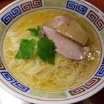 らーめん竹馬 - 鶏そば白醤油 750円