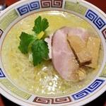 らーめん竹馬 - 鶏そば塩 750円