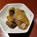 らーめん竹馬 - 親鶏旨煮 100円
