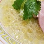 らーめん竹馬 - 塩スープ