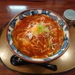 三宝亭 - 酸辣湯麵 842円