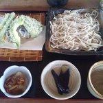 そば処 石乃花 - 料理写真:天ざる蕎麦