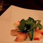 テイクファイブ - 鮮魚のカルパッチョ