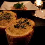 テイクファイブ - 自慢のガーリックトースト