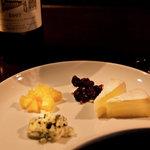 テイクファイブ - チーズの盛り合わせ