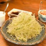 塩梅 - 定食のキャベツ