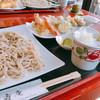 蕎壽庵 - 料理写真:寒ざらし天もり蕎麦
