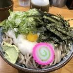 手打ち入福そば店 - 料理写真:とろろそば(中盛)