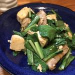 沖縄料理と泡盛 ショーリの店 - 料理写真:ニガナ炒め