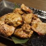 94951259 - 桜姫鶏レバーのレアレア炙り