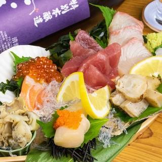 毎日限定20食!舟盛り刺身アメリカ890円