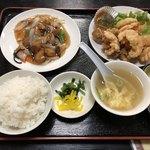 西屋 - 料理写真:小エビ天定食970円税込み