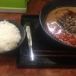 博 - 担々麺とご飯