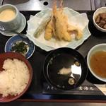 いまり海の郷 玄海丸 - 天ぷら定食=1080円