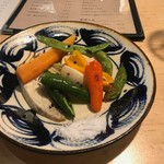 こあら - 野菜のオーブン焼き(六百円)