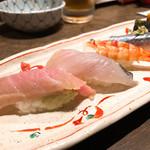 寿司の磯松 - お任せ握り(五貫) 1,600円
