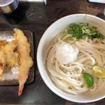 94956713 - 天ぷらおろし醤油うどん(大盛) 580円