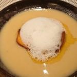 武相荘 - サツマイモのスープ