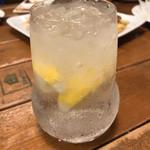道玄坂 バル克ッ - 生レモンサワー