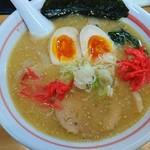 麺小屋 ここりこ - 鶏白湯らーめん650円+味玉100円✌️