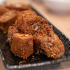 海辣鴨脖 - 料理写真:2018.10 烤鴨脖(鴨首肉、2本800円)